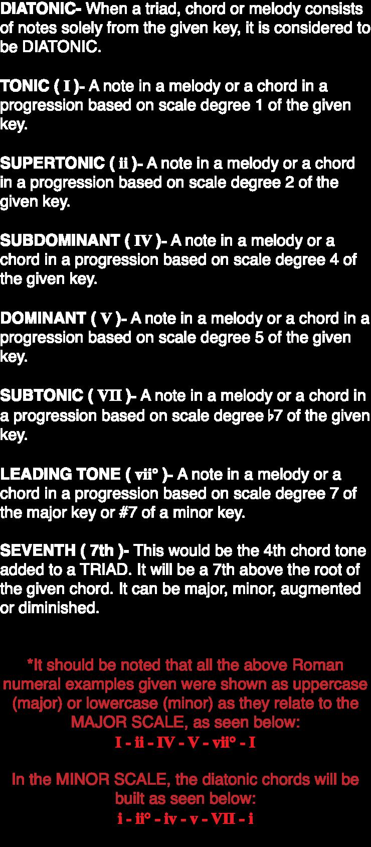 20 Harmonic Progression Pt. 20 VII   Music Student 20